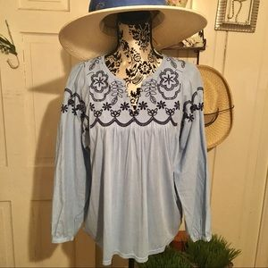 Anthropologie One September Top - S NWOT ,Cotton